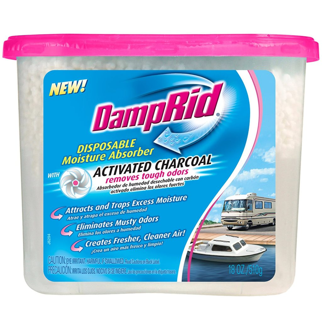 What is damp rid? A kind of moisture absorber.
